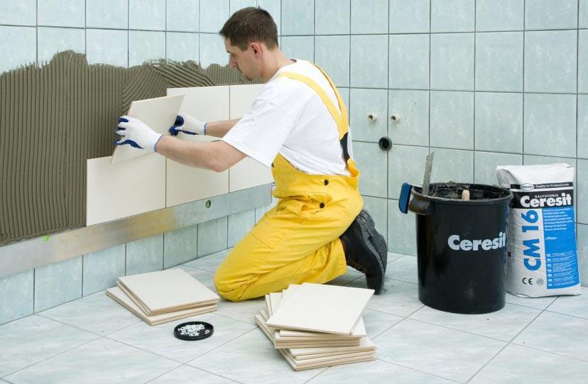 как выбрать клей для плитки в ванную