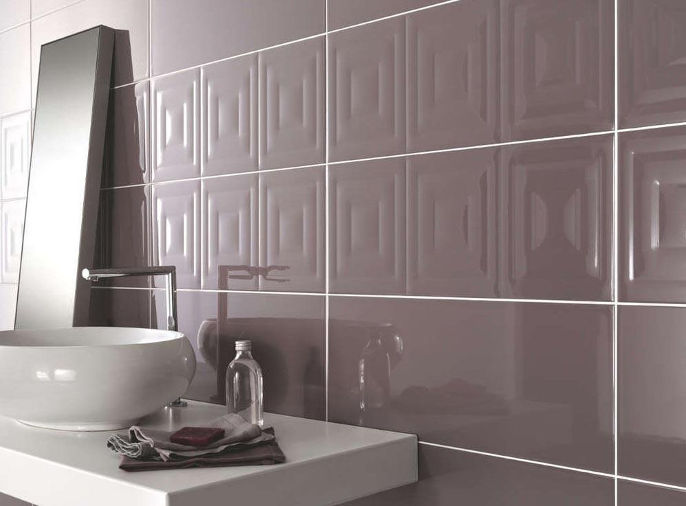 керамическая плитка для ванной комнаты-глянцевая поверхность