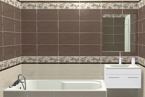 керамическая плитка для ванной комнаты-матовая поверхность