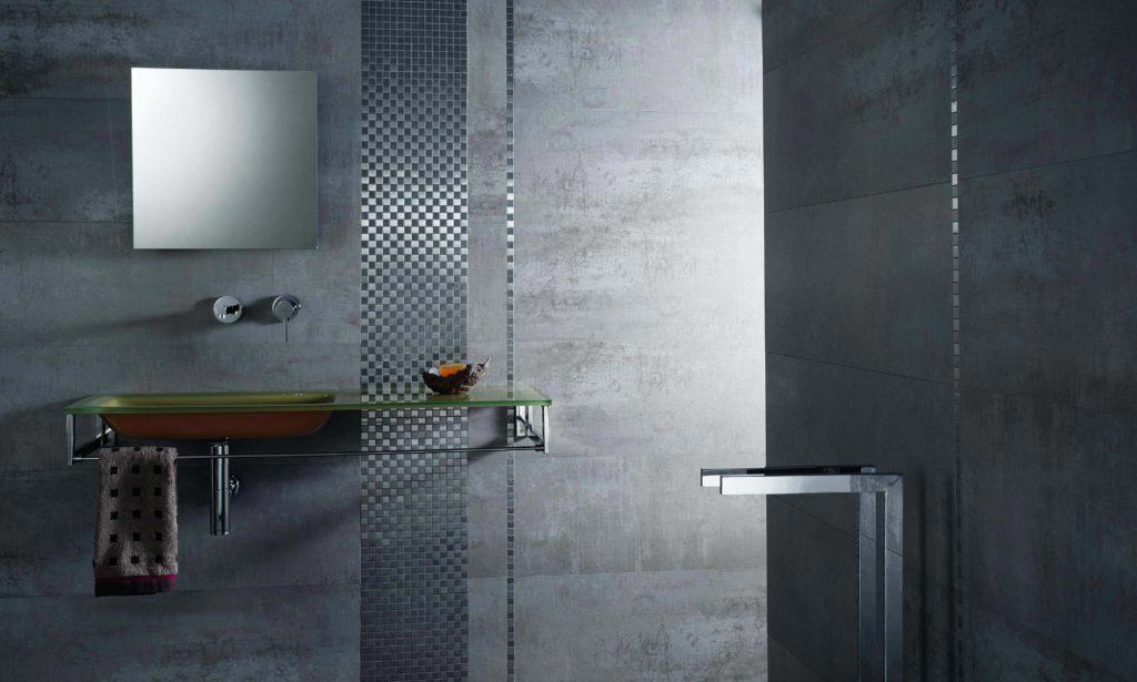 керамическая плитка для ванной-матовая поверхность