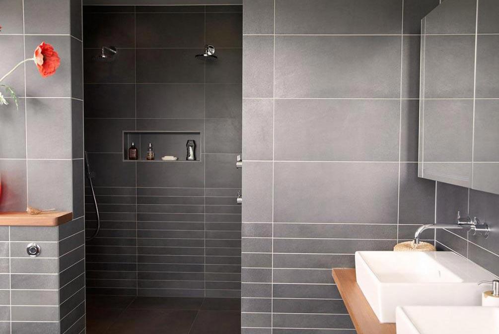 керамическая плитка для ванной-матовая