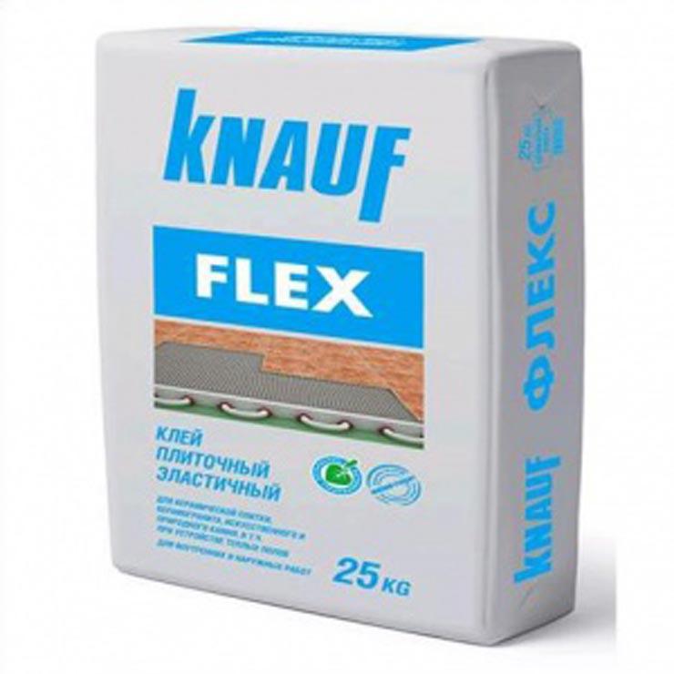 Эластичный плиточный клей Knauf