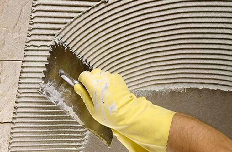 Эластичный клей для плитки