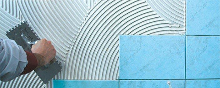 клей для плитки в ванную-советы