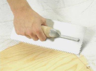клей для стяжки деревянного пола под плитку