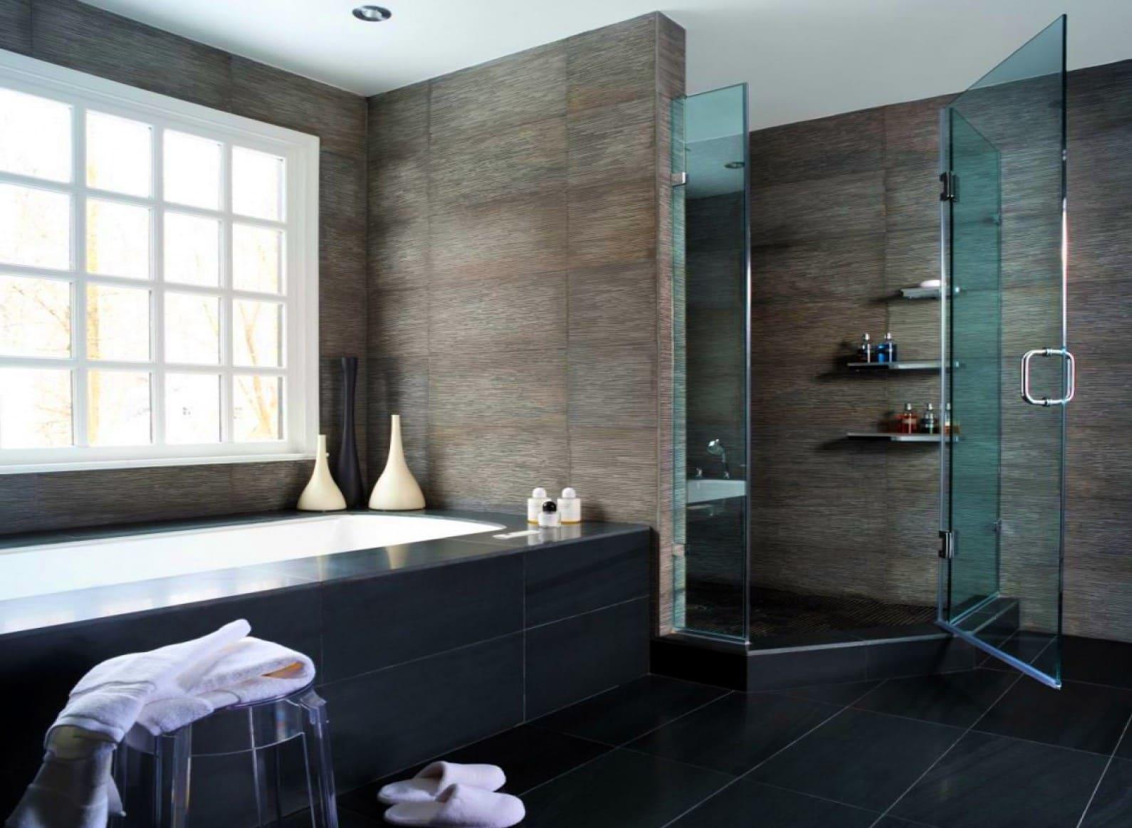 модерн ванная плитка