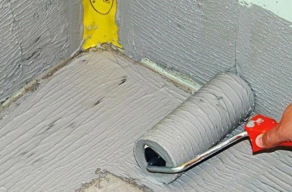 обмазочная гидроизоляция ванной комнаты под плитку