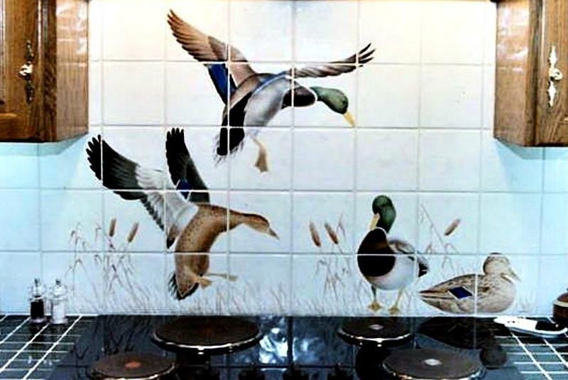 обновка плитки на кухне-готовые решения