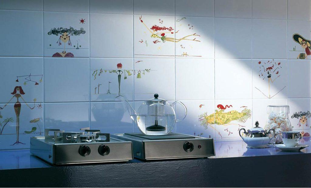 обновление плитки на кухне-готовые решения