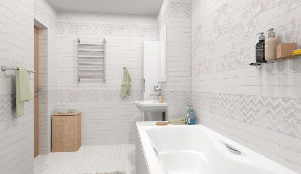 Особенности ванной в стиле шебби-шик