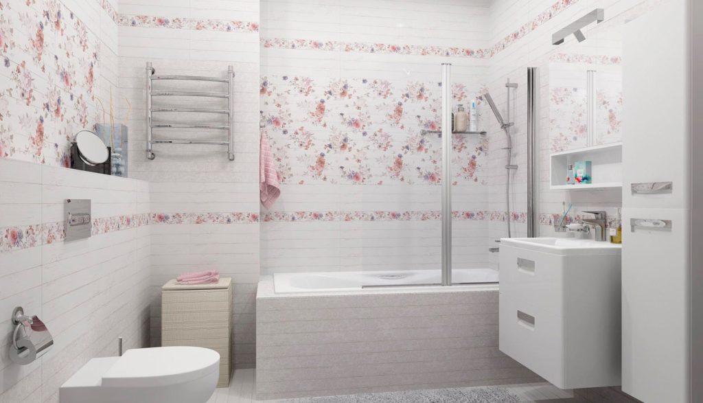 Особенности ванной в стиле шебби-шик 3
