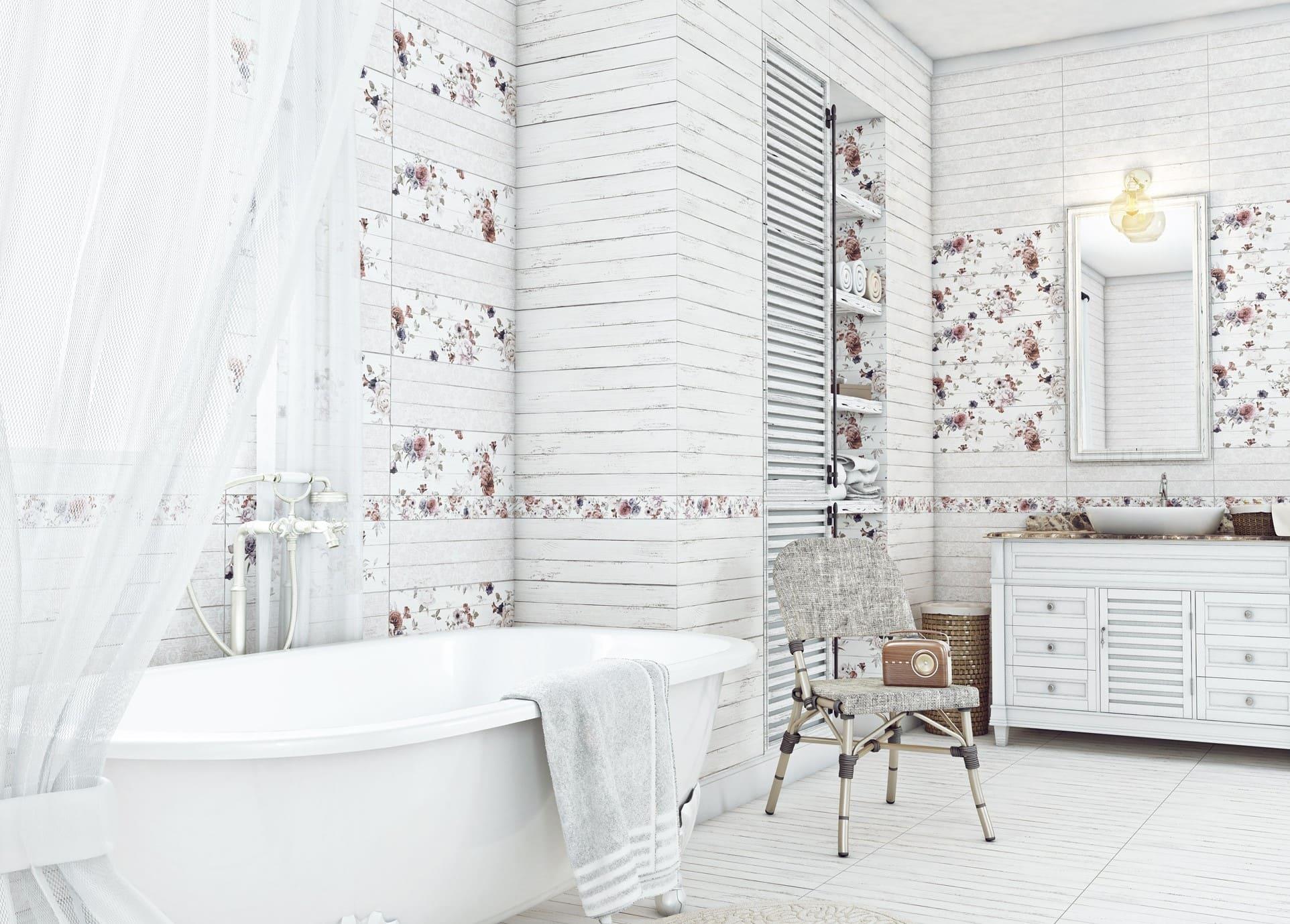 пэчворк в ванной провансаль