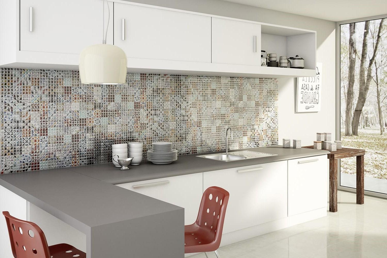 плитка мозаика на кухню