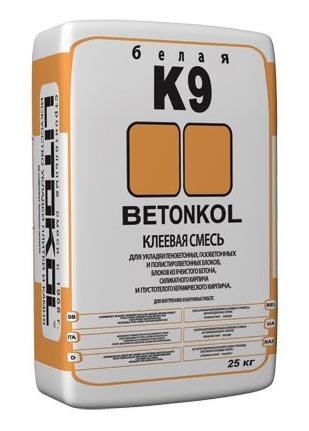 плиточный клей BETONKOL K9