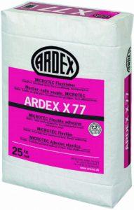 плиточный клей для бассейнов-Ardex X 77