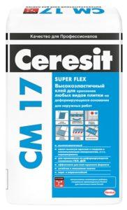 плиточный клей для бассейнов-Ceresit