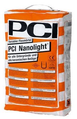 плиточный клей для бассейнов-PCI Nanolight