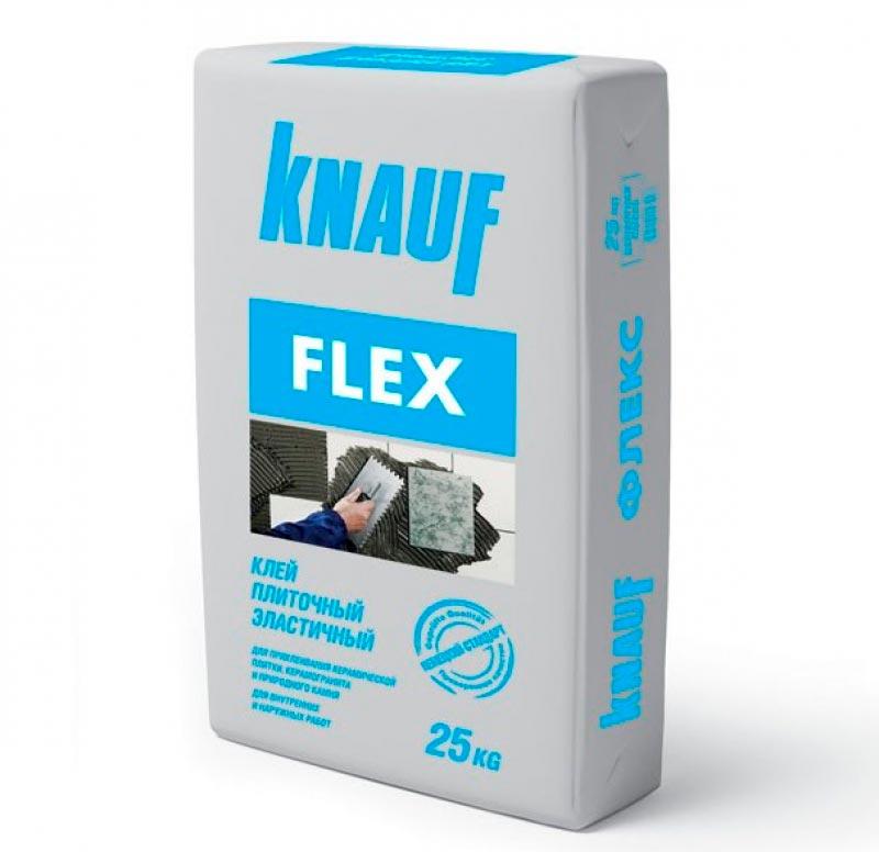 Плиточный клей для теплого пола Knauf flex