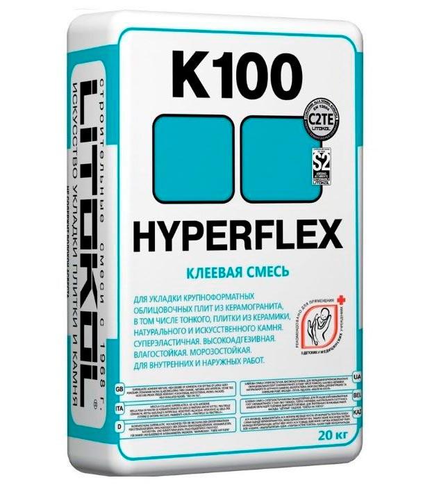 Плиточный клей для теплого пола Litokol HYPERFLEX K100