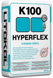 плиточный клей HYPERFLEX K100