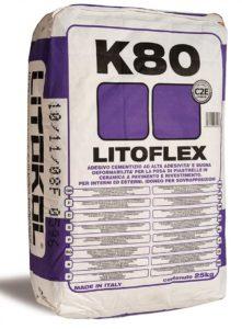 плиточный клей LITOFLEX K80