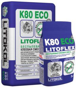 плиточный клей LITOFLEX K80 ECO