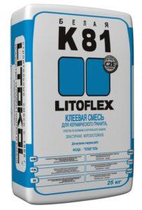 плиточный клей LITOFLEX K81