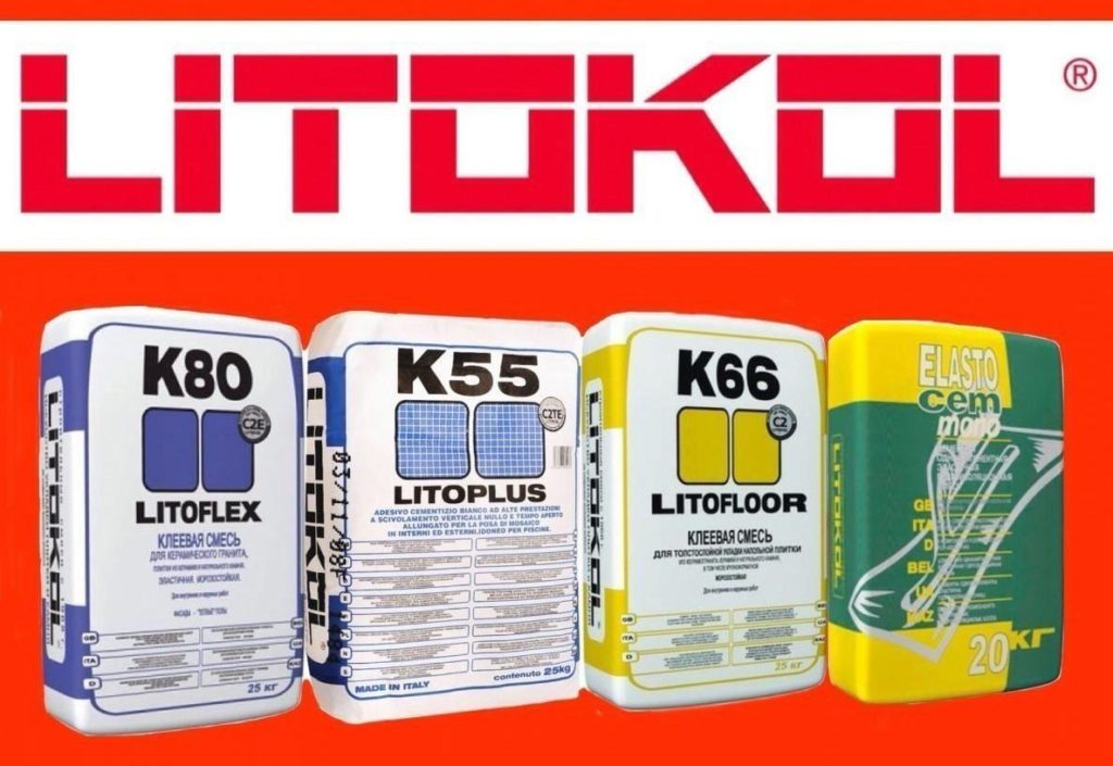 плиточный клей Litokol-характеристика
