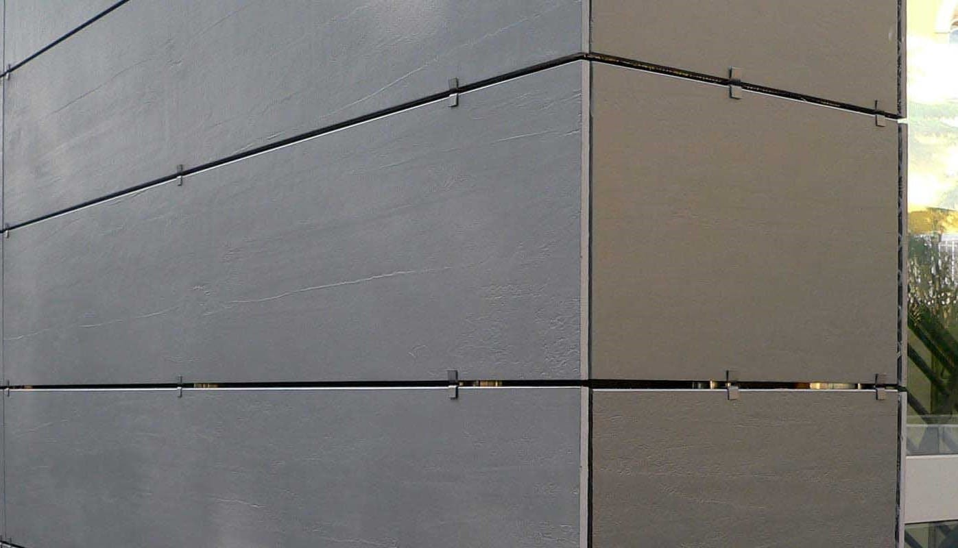плиточный клей монтажа керамогранита на фасады
