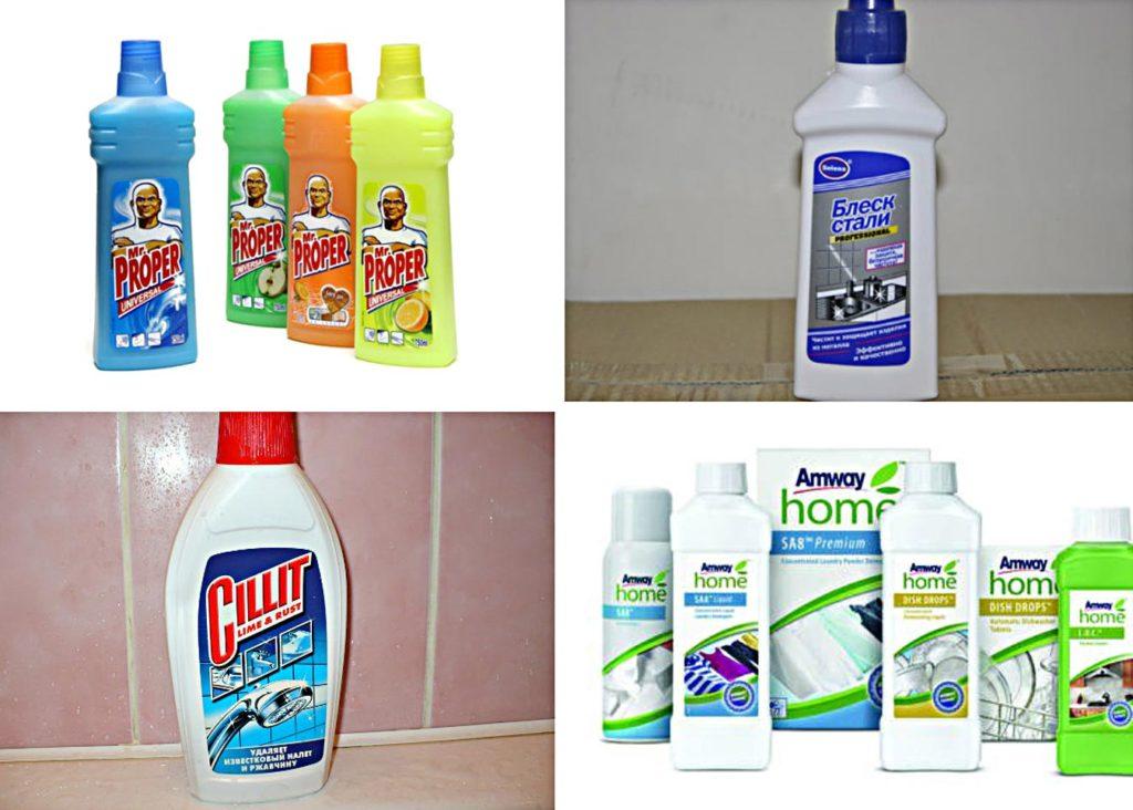 профессиональные средства для чистки плитки на кухне-необходимые советы