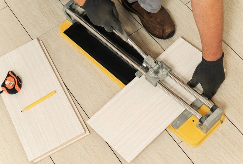 резка плитки в домашних условиях