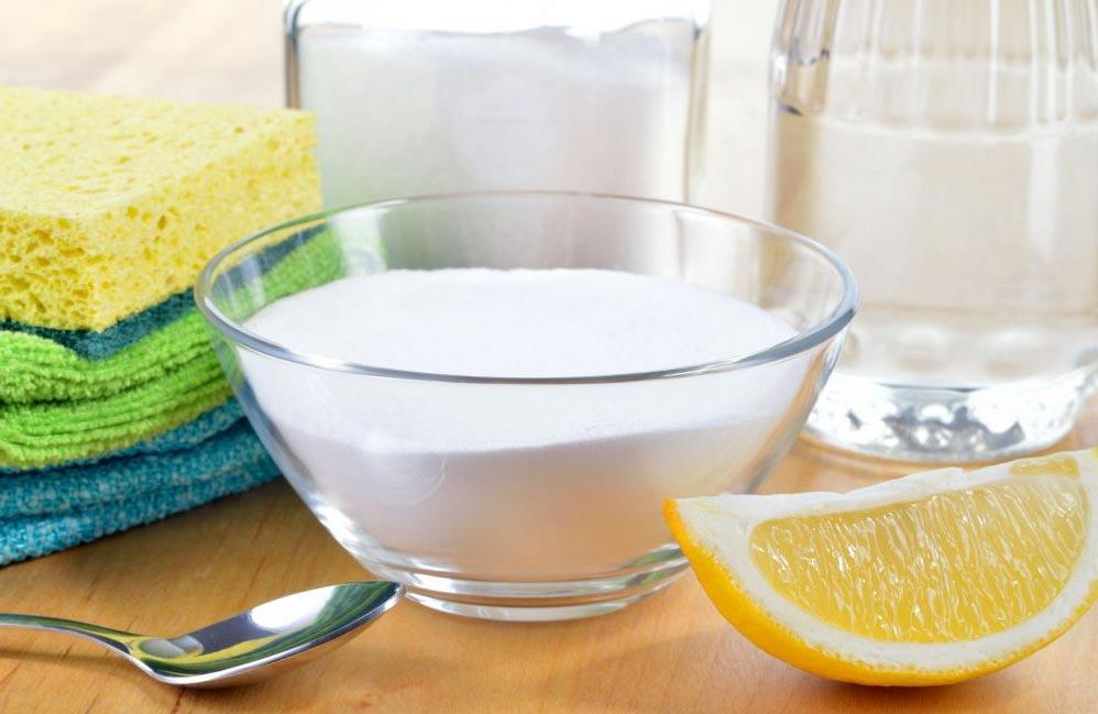 сода, лимонная кислота для чистки швов плитки