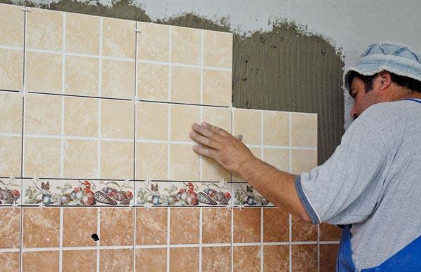 Советы по укладке фартука из испанской плитки