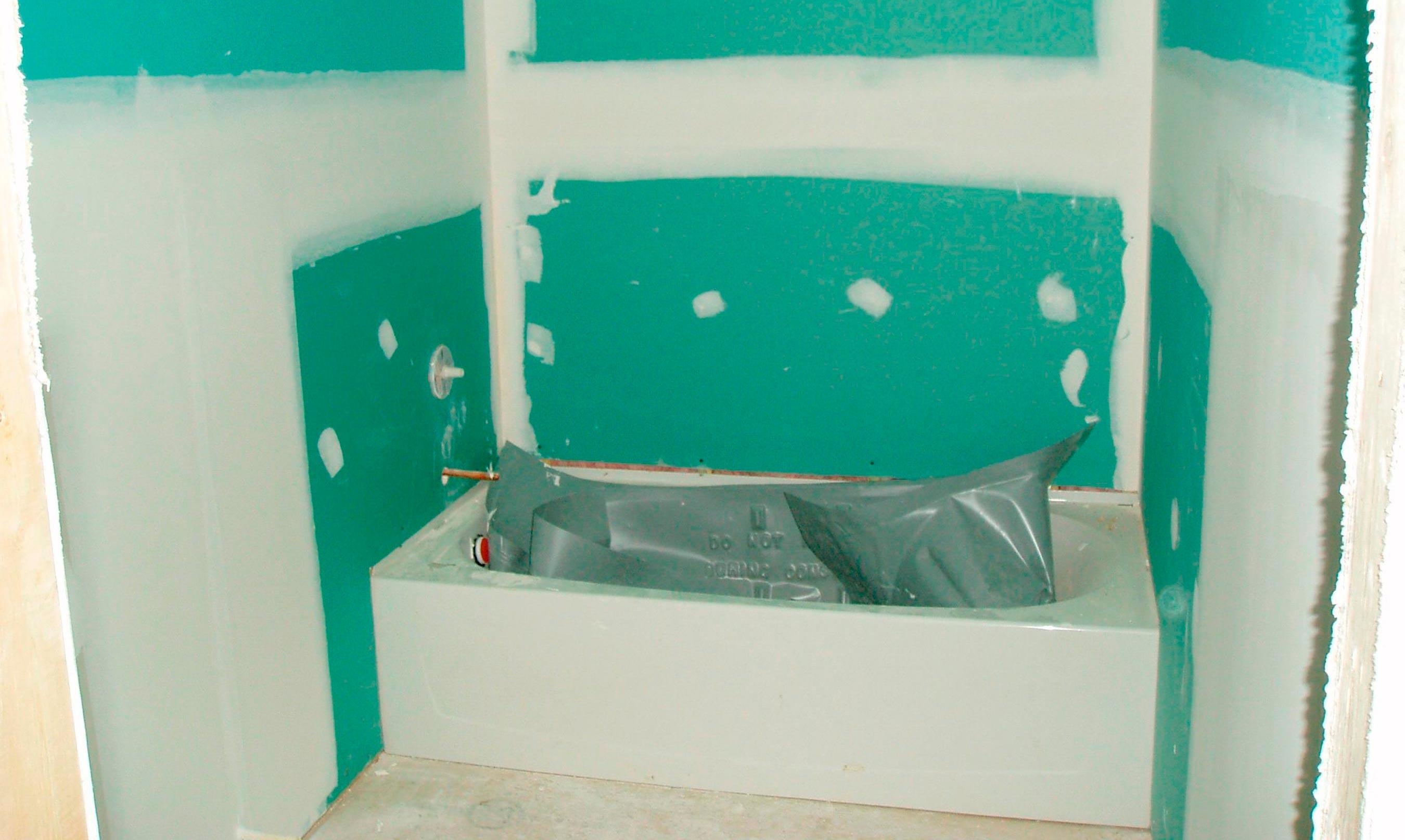 чем покрыть гипсокартон в ванной