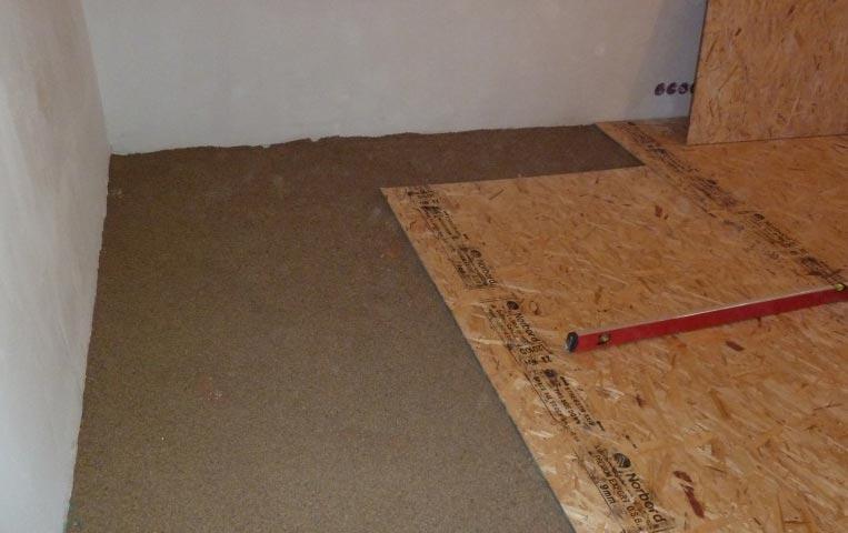 стяжка деревянного пола под плитку