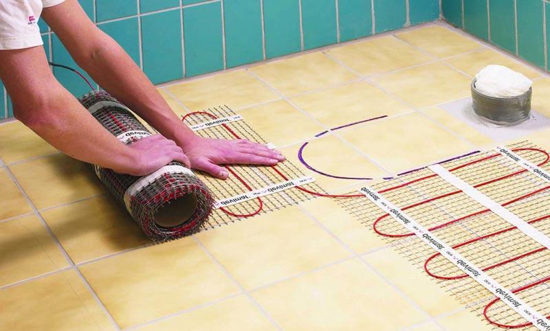 теплоизоляция пола в туалете