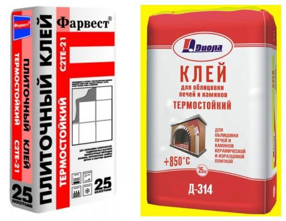термостойкий клей для плитки-термостойкий