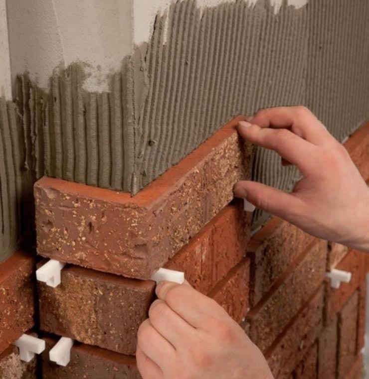 Терракотовая плитка под кирпич