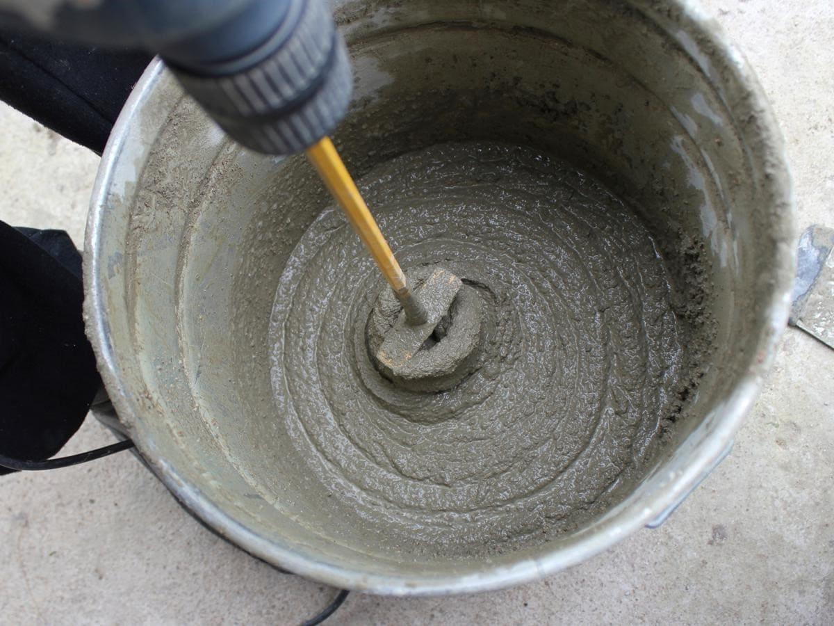 цементно-песчаная затирка