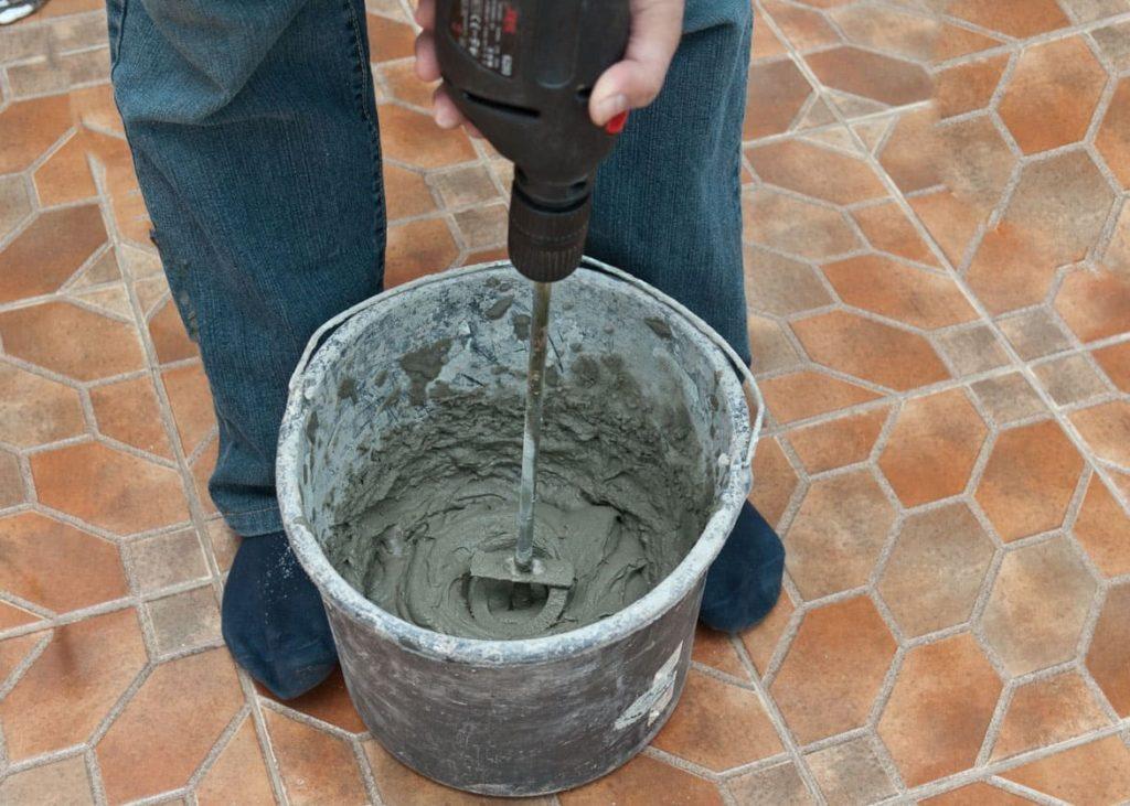 цементный клей для плитки