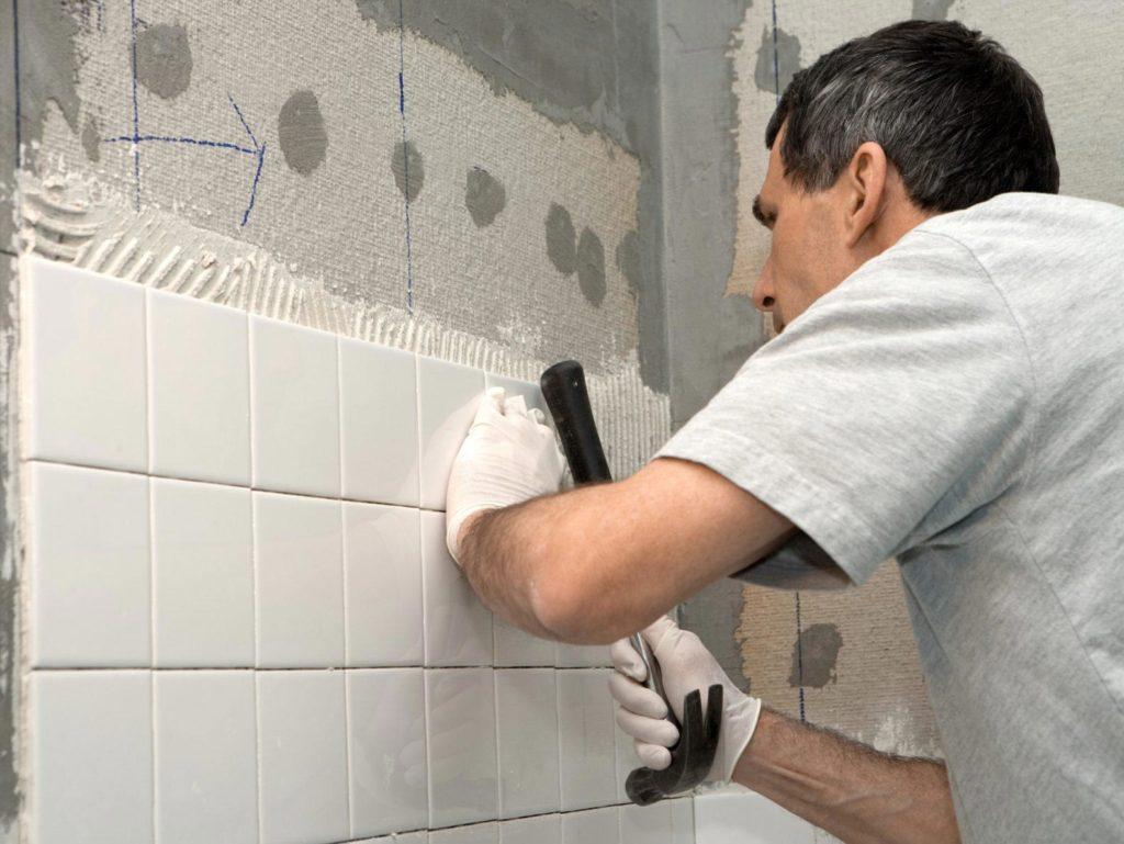 укладка плитки в ванной-порядок укладки