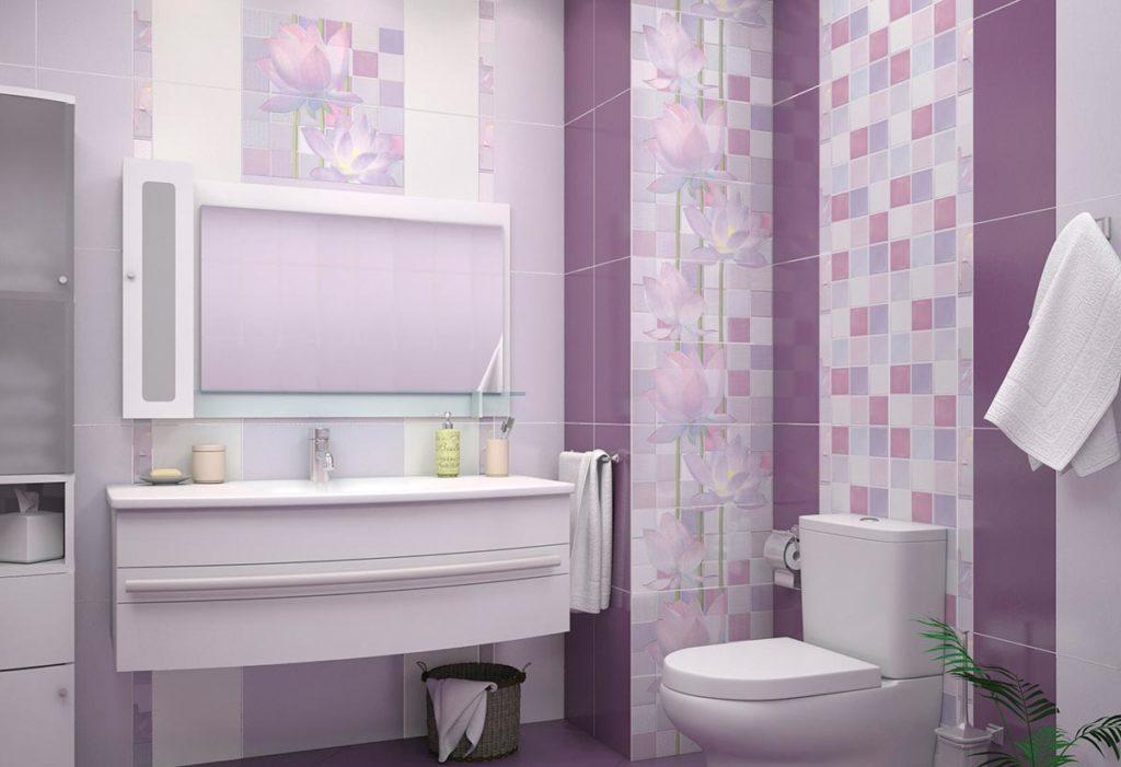 укладка плитки в ванной-выбор плитки