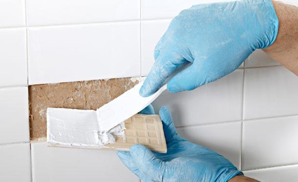 замена отдельных плиток на кухне-рекомендации