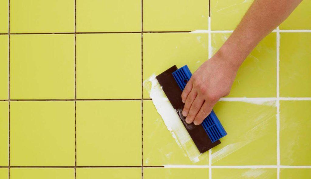 Затирка швов плитки на теплом полу