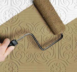 этапы покраски потолочной плитки