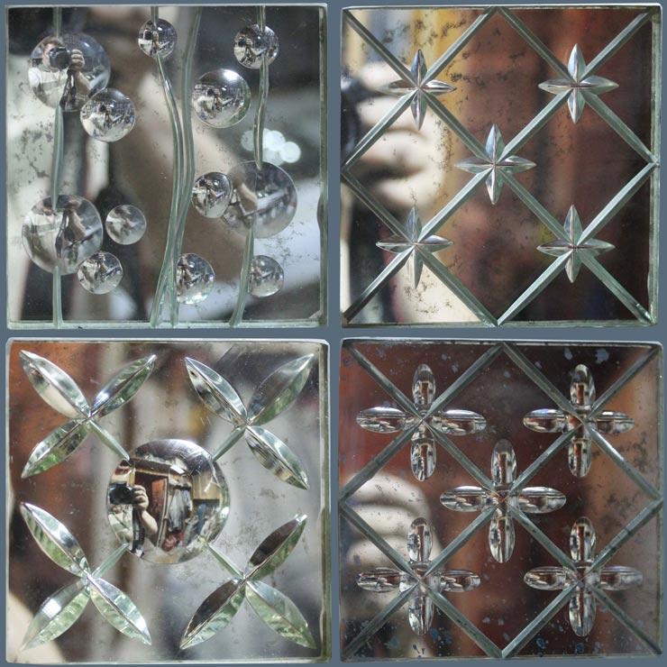 Алмазная грань на стекле