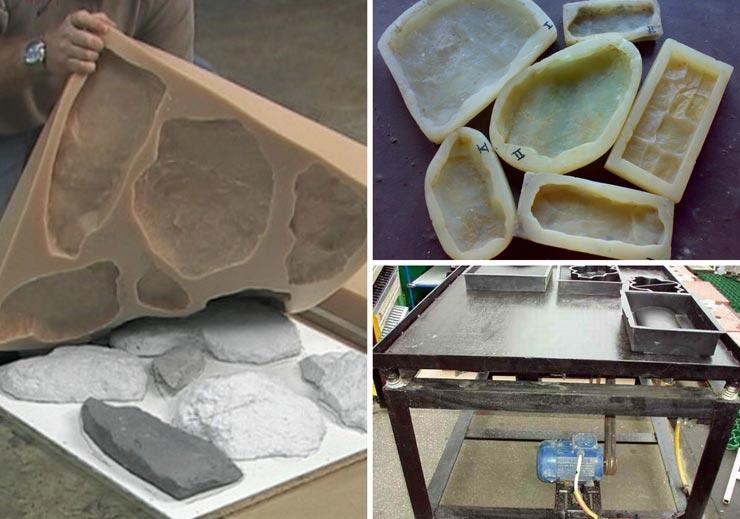 Формы для изготовления гипсовой плитки