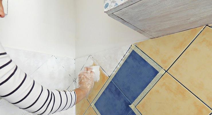 Перекрасить керамическую плитку